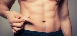 Липосакция живота у мужчин в клинике Gold Laser